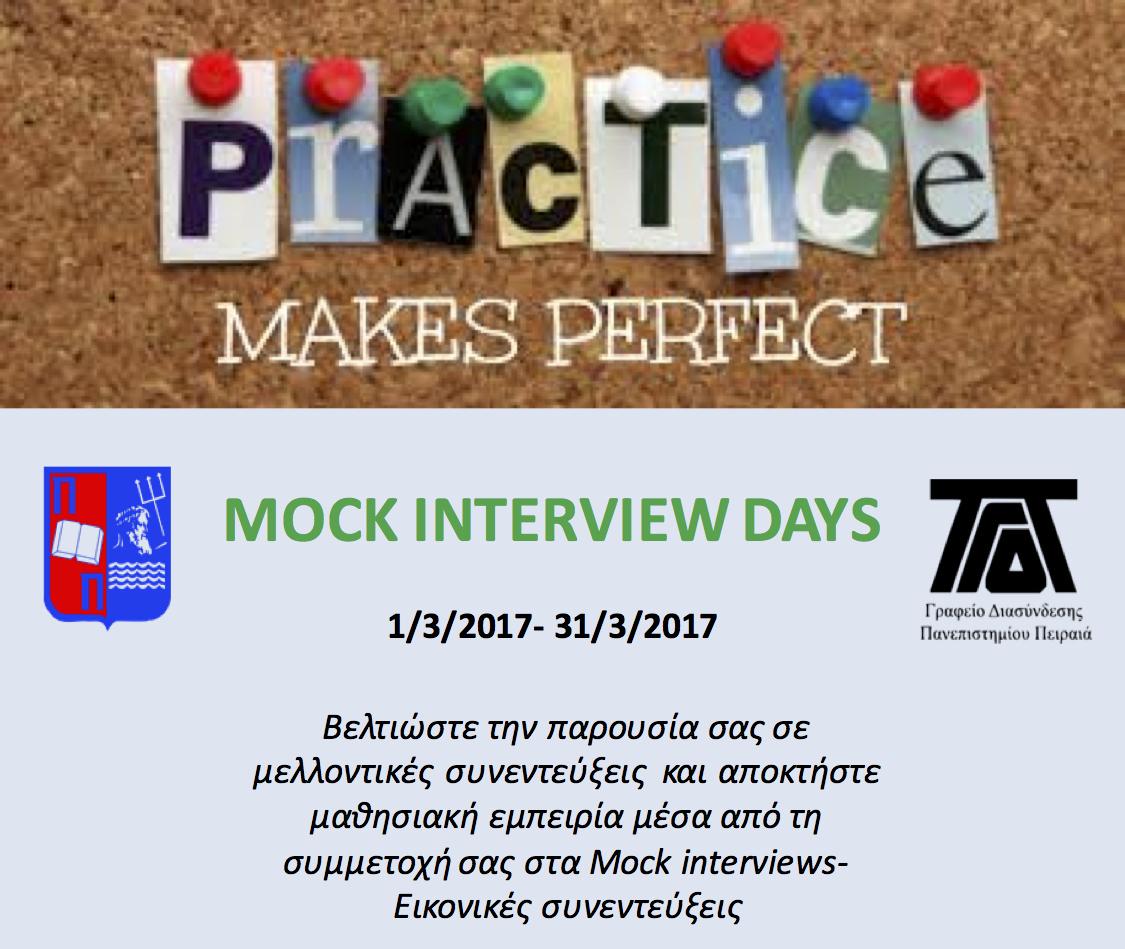 Mock Interviwes